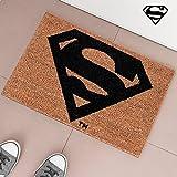 Superman ingresso zerbino tappeto