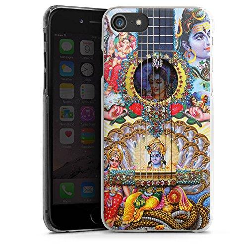 Apple iPhone X Silikon Hülle Case Schutzhülle Gitarre Spanien Kunst Hard Case transparent