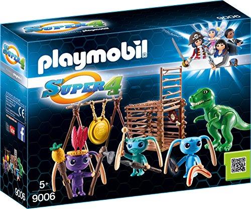 PLAYMOBIL 9006 - Alien-Krieger mit T-Rex-Falle