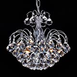 Saint Mossi European Style 3 Lights Chandelier with Crystal Balls