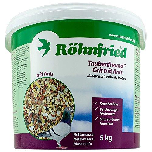 Röhnfried Taubenfreund Grit mit Anis - optimierte Mineralien für Tauben (25 Kg)