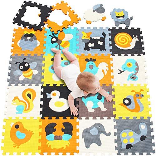 Meiqicool Puzzle Espuma entrelazada|Alfombrilla Juegos