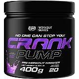 ESN Crank Pump Workout Booster, 400 g Dose (Blackberry)