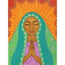 Virgen de Guadalupe por Tamara Adams 18x 24PÓSTER African-American por imagen Consciente