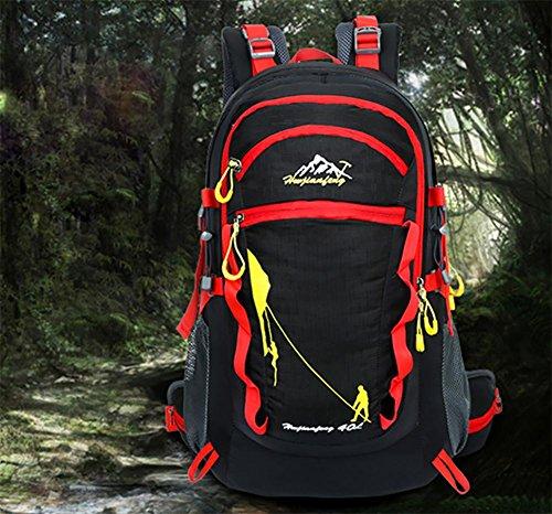 2016 neue meistverkauften outdoor Bergsteigen Tasche große Kapazität Rucksack Sport Rucksack Halterung Black