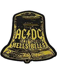 """AC/DC Écusson """"Hells Bells Cutout""""–Patch tissé 10x 9,5cm"""