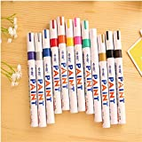 Car Motorcycle Car Tyre Paint Marker Pen Whatproof Outdoor Marking Ink Pen New,A
