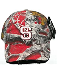 NEW! North Carolina State Wolfpack Buckle Back 3D Embroidered Mothwing Camo Cap by Mothwing Camo