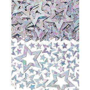 Confeti prismático Amscan 9900498 con forma de estrella, 14g