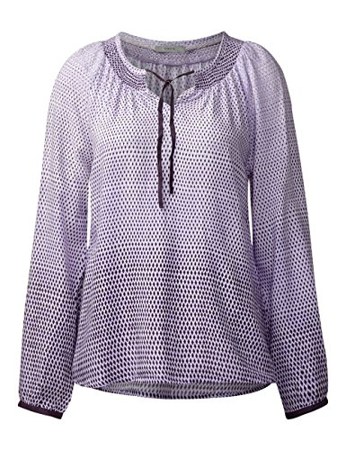 Cecil Damen Bluse Violett (Dark Purple 31085)