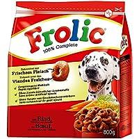 Frolic Complete Hundefutter Rind, Karotten und Getreide, 6 Packungen (6 x 800 g)