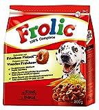 Frolic Hundefutter Trockenfutter mit Rind, Karotten und Getreide, 6 Beutel (6 x 800g)