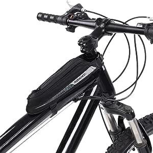 Cyclisme Sacoche de Rangement VTT Avant de Top Tube Noir 1,5L//2,5L ROCKBROS Sacoche de Cadre V/élo Rigide
