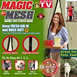 #6: Magic Mesh Handsfree Screen Door with magnet - H5DC1