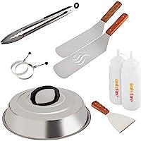 Onlyfire FPA-5117 Trousse à Outils pour Barbecue Professionnel pour Barbecue de Cuisson avec kit spatule et grattoir en…