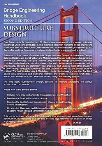 Bridge Engineering Handbook, Second Edition: Substructure Design: Volume 3