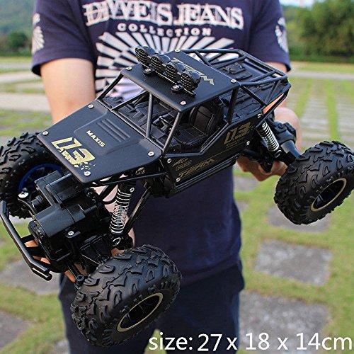 Pinjeer RC Voiture 1/12 4WD Rock Crawlers 4x4 Conduite Voiture Double Moteurs...