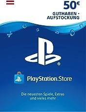 PSN Card-Aufstockung   50 EUR   österreichisches Konto  PSN Download Code