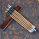 Faux Loup Brosse à cheveux calligraphie Stylo Kanji japonais Sumi Dessin Brosse Stylo