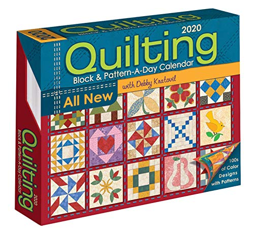 Quilting Block and Pattern-a-Day 2020 Activity Calendar -