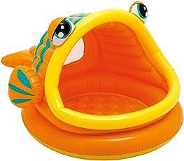 Intex Lazy Fish Shade Baby Pool, Multi Color