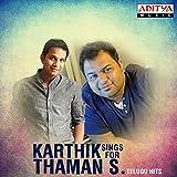 Karthik Sings for Thaman S. - Telugu Hits