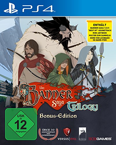 The Banner Saga Trilogy - [PlayStation 4] (Playstation 4-strategie-guides)