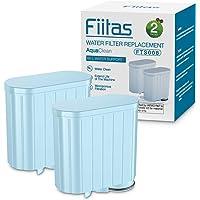 Fiitas CA6903 / 10 Filtre à eau en Plastique Aquaclean pour Machine à Café Philips Machine à Café Série Saeco lot de 2
