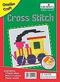 #9: Creative Educational AIDS P. Ltd. Cross Stitch Kit – Engine, Multi Color
