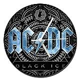 MasTazas AC/DC ACDC Black Ice Wanduhren Wall Clock 20cm