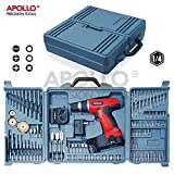 Best Drill Cordlesses - Apollo Do-It-Yourself 18 V Electric Cordless Drill, 16+1 Review