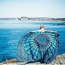 Starsglowing Toallas de playa, Indian Mandala Beach Towel, kimono Túnica, 148cm x 210cm