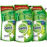 Dettol Original Germ Protection Handwash Liquid Soap Refill, 750ml, Pack of 3
