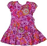 PAMPOLINA® Cord Kleid Lila 74
