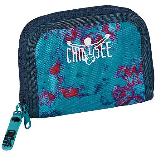 Chiemsee Twin Zip Wallet Portemonnaie, G0521, 5070031 Dusty Flowers