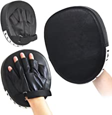 Yaheetech 1 Paar Handpratzen Boxen Pads Schlagpolster Handschlagpolster Boxtraining Kickboxen
