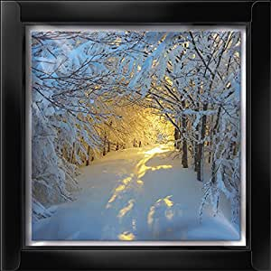 Weihnachtskarten mit verschneitem wald design glitzer 16 wundersch ne weihnachtskarten amazon - Weihnachtskarten amazon ...