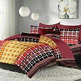 Polka Designed Premium Cotton Double Bed...