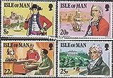 Prophila Collection GB - Insel Man 189-192 (kompl.Ausg.) 1981 150. Todestag Mark Wilks (Briefmarken für Sammler)