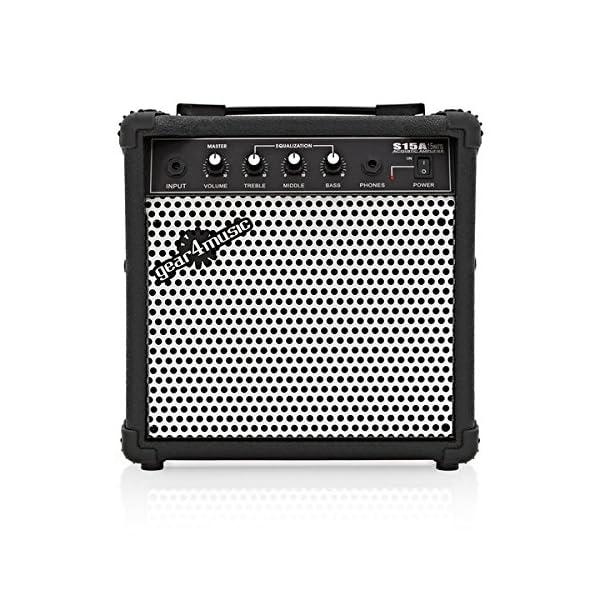 Amplificatore 15W Chitarra Acustica da Gear4music
