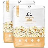 Marchio Amazon - Mama Bear - Pannolini ultra asciutto - Taglia 3 (4-9 kg) - Con canali d'areazione - 172 pannolini (2 confezi