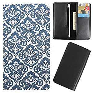 DooDa - For iBall Andi5 Stallion PU Leather Designer Fashionable Fancy Case Cover Pouch With Card & Cash Slots & Smooth Inner Velvet