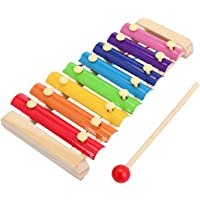 FunBlast Wooden Xylophone for Kids Musical Instruments Toys for Boys & Girls - Multicolor