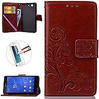 Xperia Z3Mini Custodia, Sony Xperia Z3Compact Custodia a portafoglio, il