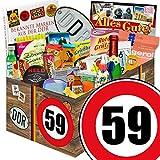 59. Geburtstag   Ostalgie Geschenkset   24tlg. Geschenkset DDR