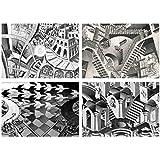 Set 4 Tovagliette Escher