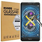 [2 Pack] Honor 6X Screen Protector, Rusee Huawei Honor 6X Tempered Glass [High Definition][Bubble Free][9H Hardness] Screen Protector Film Guard Cover for Huawei Honor 6X