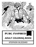 PUBG Inspired Adult Coloring Book: PlayerUnknown's Battlegrounds Art and Battle Royale, Scavenge Classic and Multiplayer Hit Inspired Adult Coloring Book