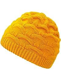 4sold Wave para mujer gorro de lana gorro tejido forro gorro de invierno  gorro de esquí 464fc7bf4fd