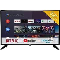 RCA RS32H2 Smart TV (32 Pouces HD-Ready Android TV avec Google Assistant, Google Play Store, Prime Video, Netflix) HDMI…